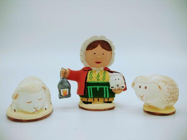 Coffret Bergère et ses moutons